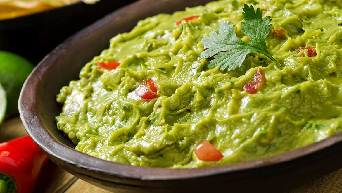 A Big Plate of Our Delicious Guacamole