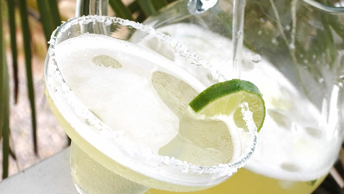 Classic Margarita with Tequila Blanco Cup